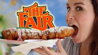 trying fair food