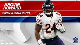 Jordan Howard's a Powerhouse w/ 36 Carries & 167 Yards 💪 | Bears vs. Ravens | Wk 6 Player Highlights