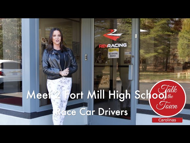 Meet 2 Fort Mill High School Race Car Drivers