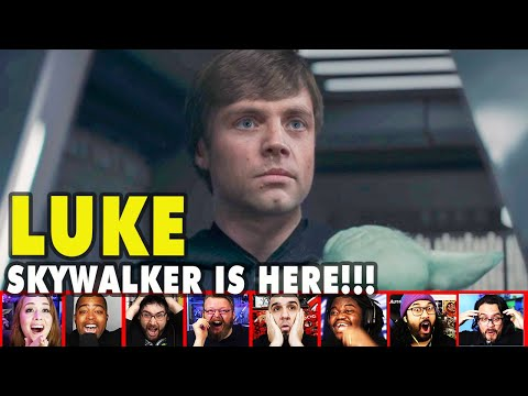 Reactors Reaction To Seeing Luke Skywalker On The Mandalorian Season 2 Episode 8 | Mixed Reactions