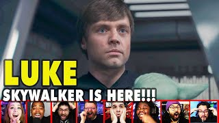 Reactors Reaction To Seeing Luke Skywalker On The Mandalorian Season 2 Episode 8 | Mixed Reactions