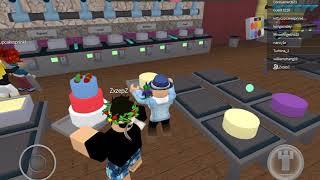 Roblox baker valley :how to make a rainbow cake w/zepcan