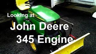 Explaining John Deere 345 FD590v Engine Componants