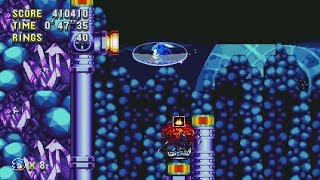 Sonic Mania - Sonic + Tails Speedrun in 49:42