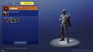 Fortnite Mobile *UNLOCKING THE NEW BLOCKBUSTER SKIN - THE VISITOR*