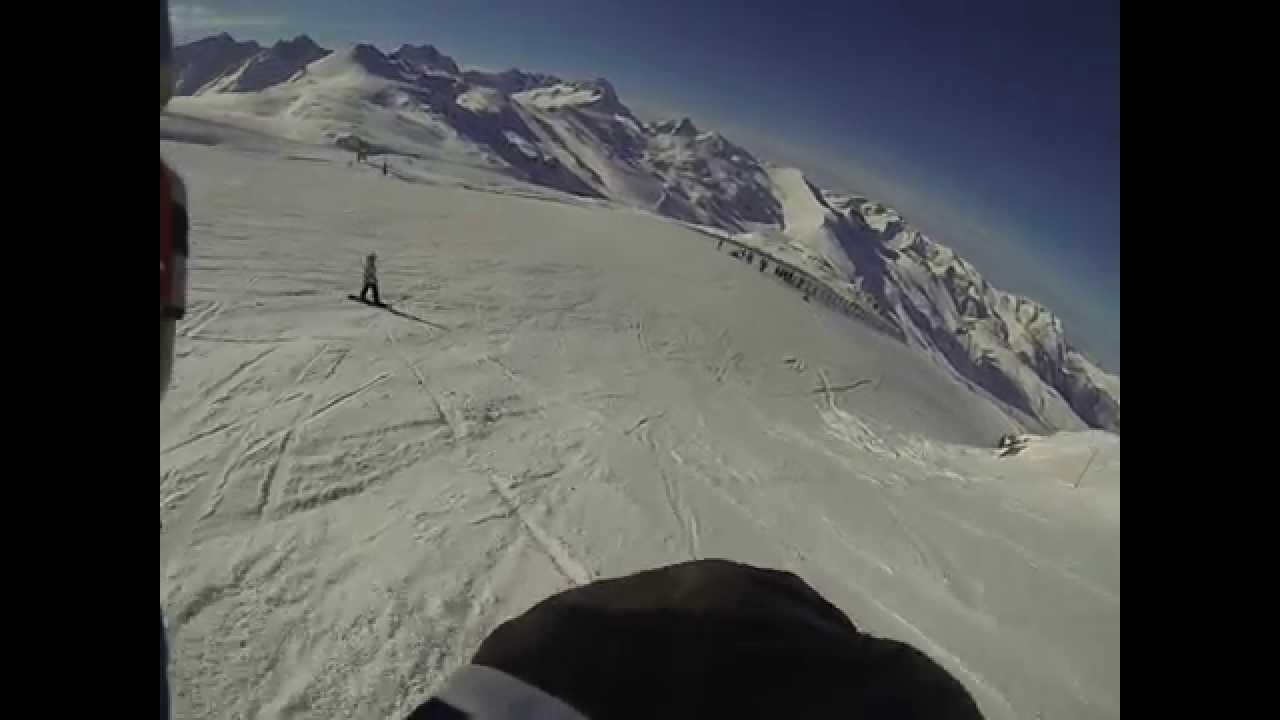 Bellecombe piste deux alpes webcam