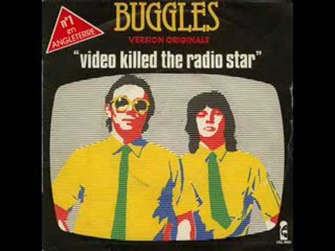 The Buggles,  Killed The Radio Star With Lyrics
