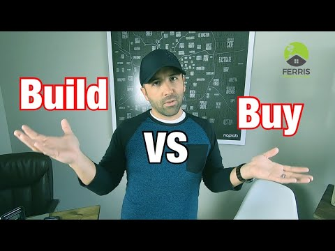 Should You Buy a House or Build a House?
