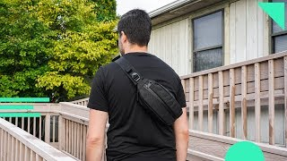 Aer City Sling Review | Urban Travel Sling Bag With A Clever Design & Versatile Organization