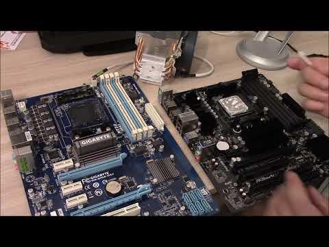 Меняю материнскую плату Gigabyte GA-970A-DS3 Rev 1.0 на ASRock 970 Pro3 проц. FX 8320