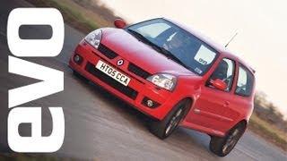 Renault Clio 182 Trophy | evo DIARIES