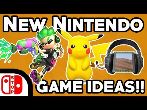 New Nintendo Franchise IDEAS??? (Ft. Sandbox Media)