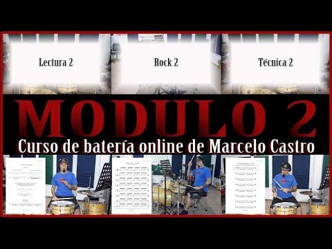 Trailer Módulo 2 del Curso de batería online