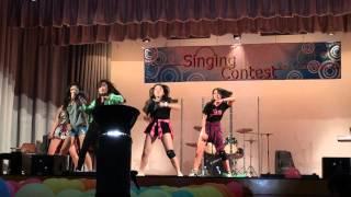 2014-2015 基督書院sing con決賽 - 跳舞表