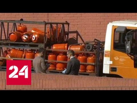 Полиция Барселоны выстрелами остановила угнанный грузовик с бутаном