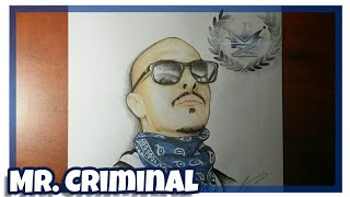 How to Draw Mr. Criminal (Time Lapse Drawing)