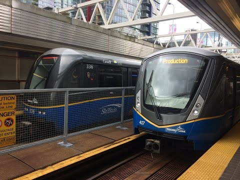 Skytrain's At Stadiuim-Chinatown Station