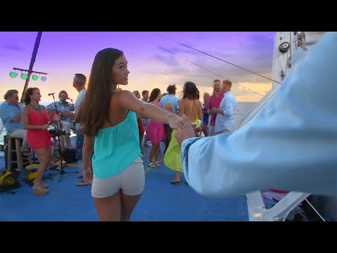 Commotion on the Ocean Sunset Sail - Video