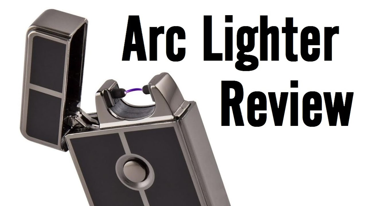 Tesla Coil Lighters USB Rechargeable Arc Lighter Review ...