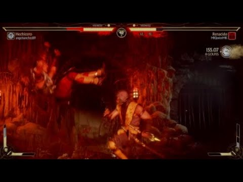 MK11 - MKJavierMK Vs AngelySaras -  Ranked matches