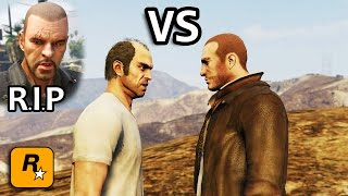 GTA V - Niko vs Trevor [Johnny's Death Revenge] Part 1