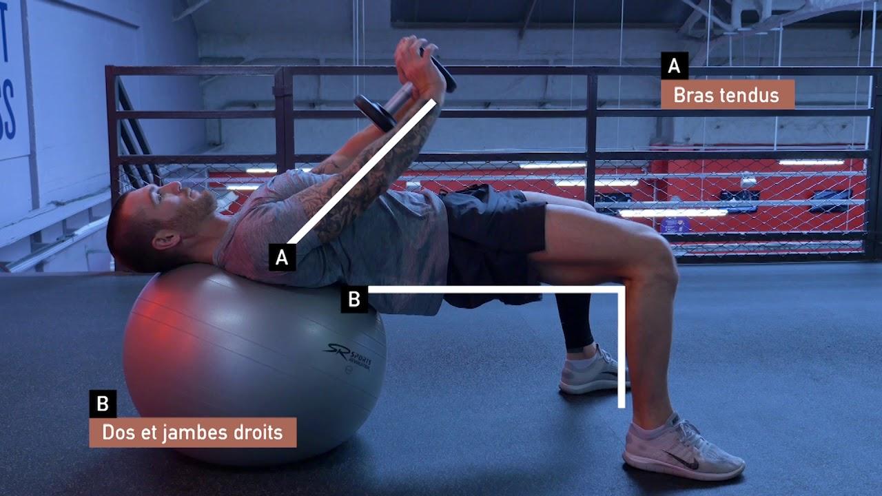 Musculation : Trois exercices de musculation pour vos ...