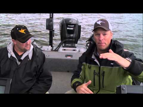 Fish Finder With Gps And Sonar Finding The Fish