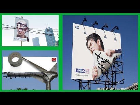 Ces 19 panneaux publicitaires tous plus originaux les uns que les autres