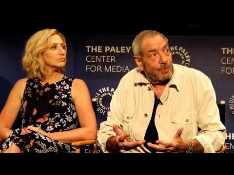 Law & Order: True Crime - Paley Center Panel - Edie Falco, Dick Wolf, Heather Gram
