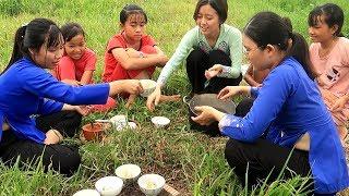 Hột Vịt Lộn Nướng Muối Ớt món ăn lạ miệng khó quên  | Thôn Nữ Miền Tây Tập 112