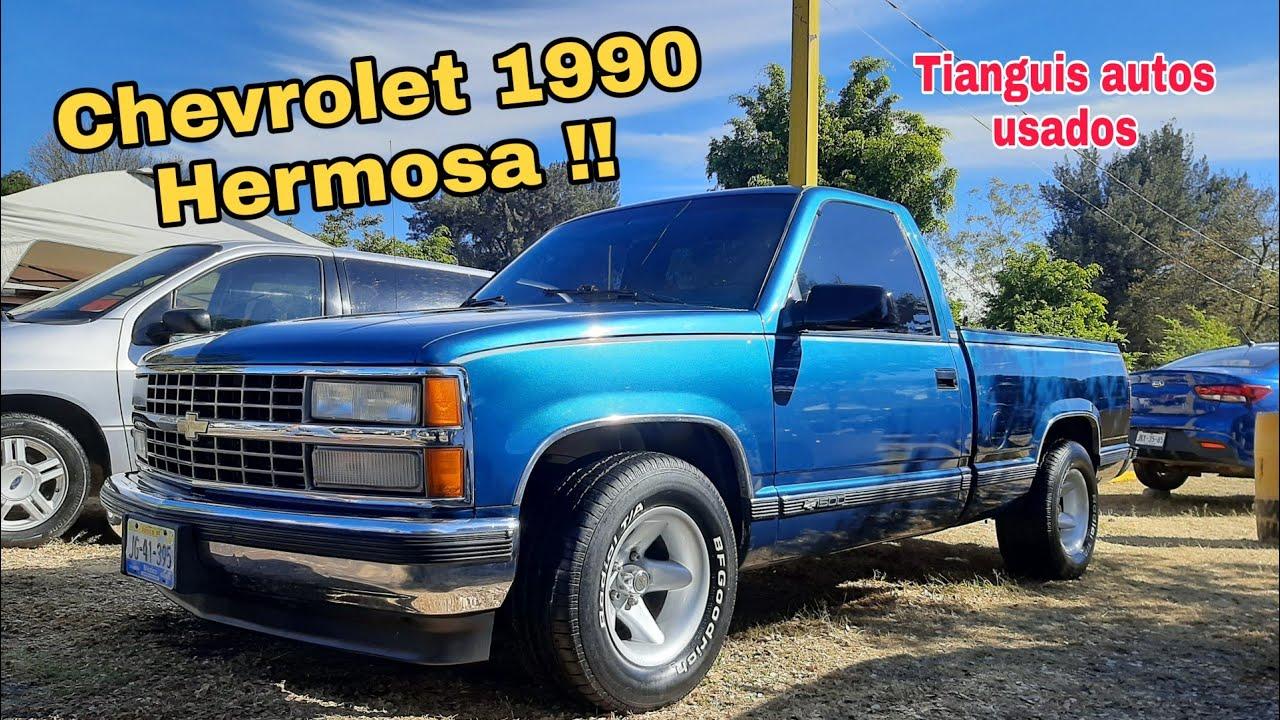 camionetas Chevrolet Silverado 1990 pickup truck en venta for sale cheyenne en mexico clasica