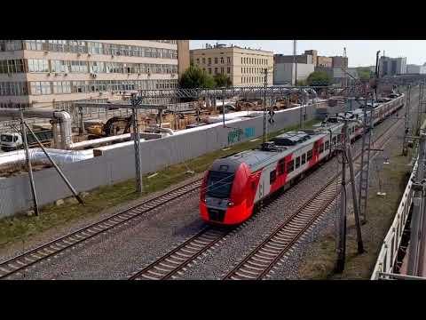 Электричка на МЦК (Москва). Тест видеосъемки BQ-6001L Jumbo