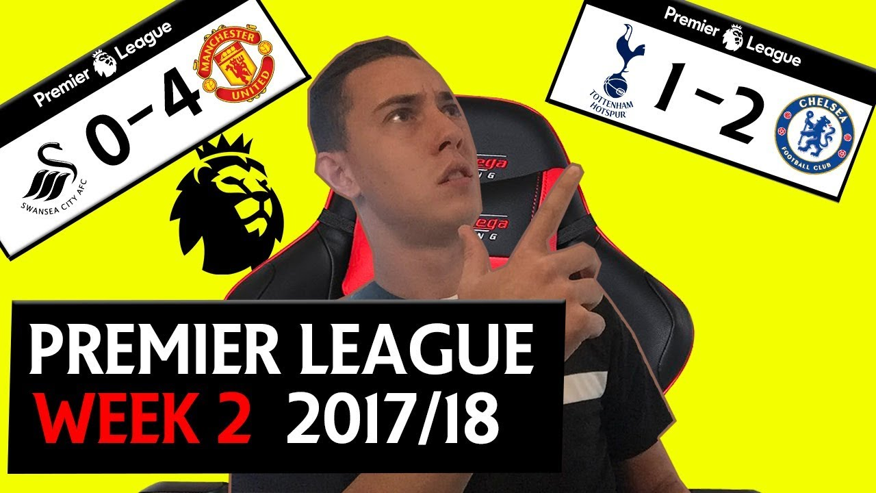 PREMIER LEAGUE WEEK 2 SCORE PREDICTIONS & GOALS - TOTTENHAM 1-2 CHELSEA