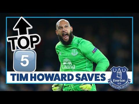 TOP 5 TIM HOWARD SAVES!