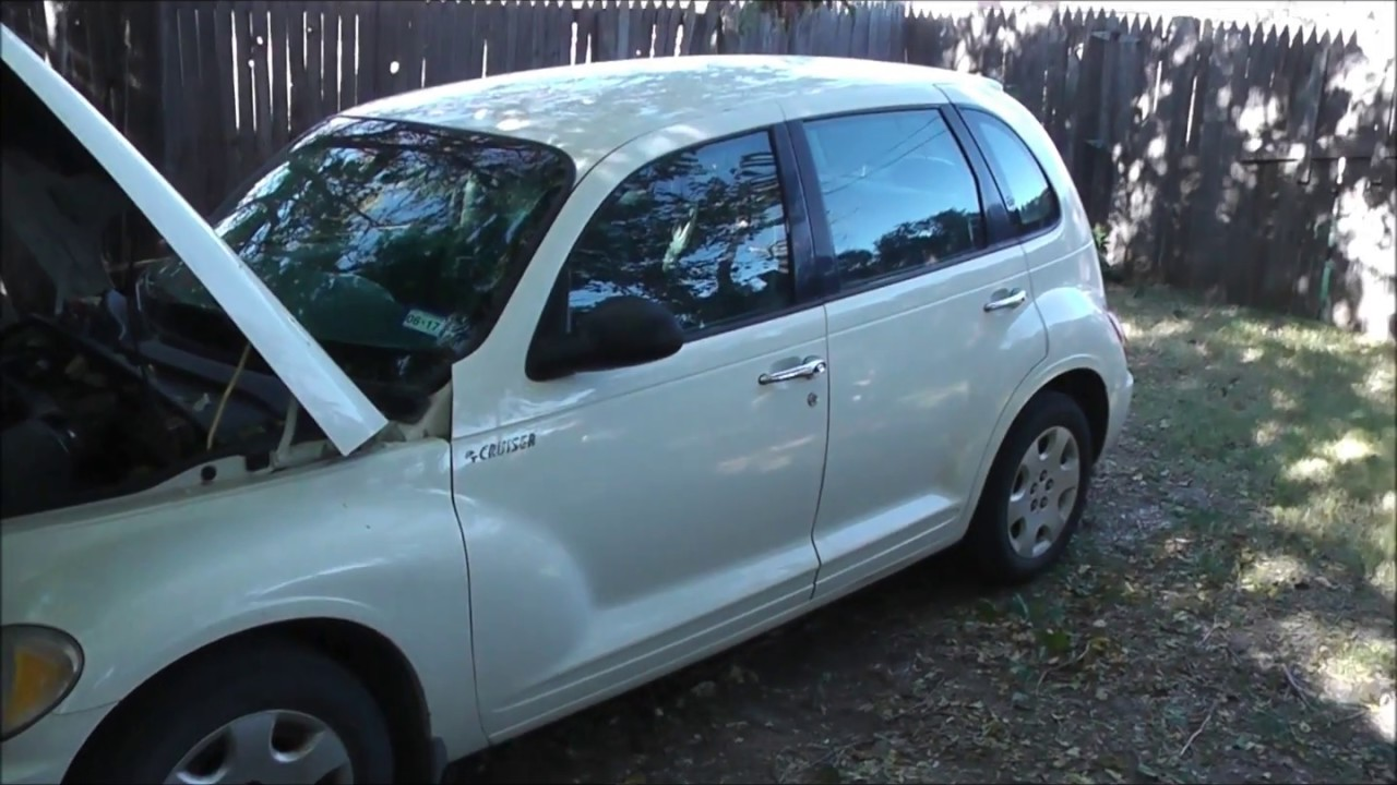 Pt Cruiser Heater Core Replacement 2006 Model Part 1
