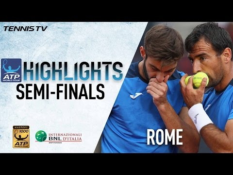 Dodig/Granollers Upset Top Seeds In Rome Highlights 2017