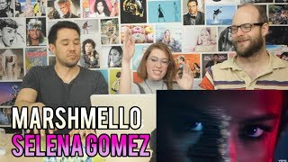 Selena Gomez Marshmello - Wolves (Vizualizer) REACTION