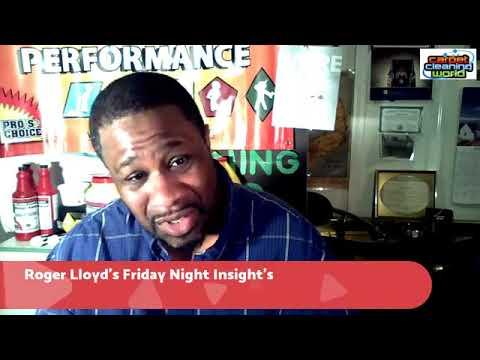 Roger Lloyd's Friday Night Insight's