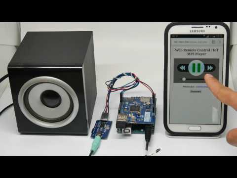 Web-based MP3 Player with PHPoC WiFi Shield for Arduino