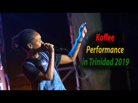 KOFFEE First Time Performing in Trinidad & Tobago