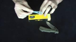 Buck 830 Marksman Adjustment Tutorial | SKBlades