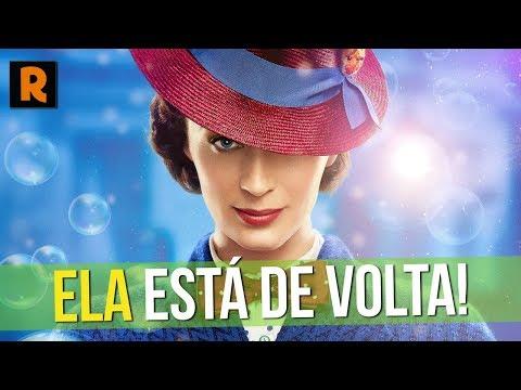 MARY POPPINS ESTÁ DE VOLTA! VALE A PENA VER? | Crítica