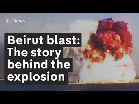 How the Beirut explosion brought Lebanon to the brink of collapse