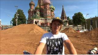 FMX in Russia's Red Square - Red Bull X-Fighters Moscow preview - 2010
