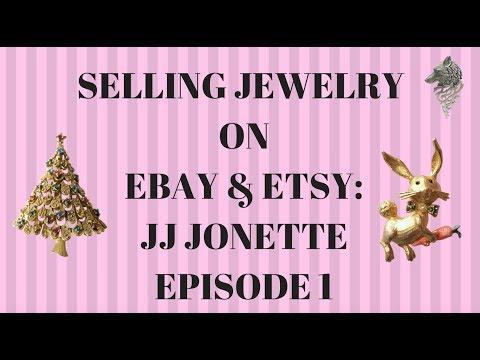 Selling Jewelry on Ebay & Etsy: JJ Jonette Episode 1