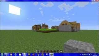 (minecraft) tutorial como construir un mundo plano