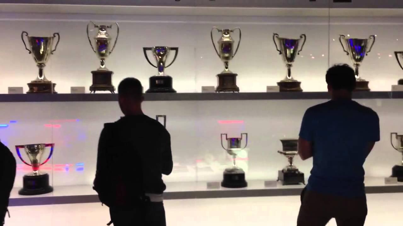 Barca Trophy Room