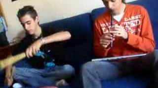 Tin Whistle & Sofa