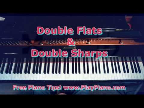 Double Flats And Double Sharps
