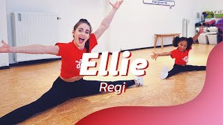ELLIE - REGI  ft. Jake Reese | Easy Kids Dance Video | Choreography